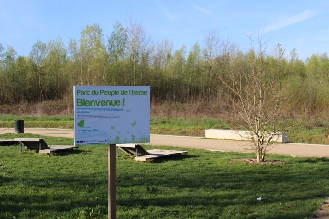 Récompense pour le projet du Parc du Peuple de l'Herbe à CARRIERES-SOUS-POISSY