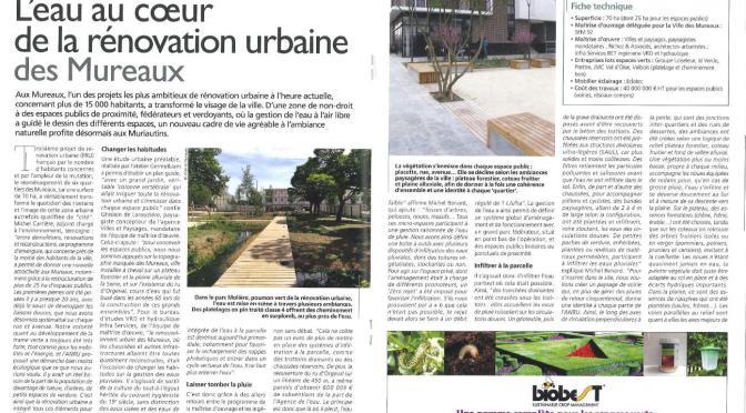 Les Mureaux à l'honneur du magazine Espace Public & PAYSAGE